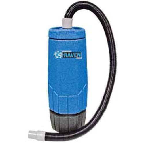Sandia whisper Raven 703003 6 quart backpack vacuum with tool kit power head 1122 watts 2 stage