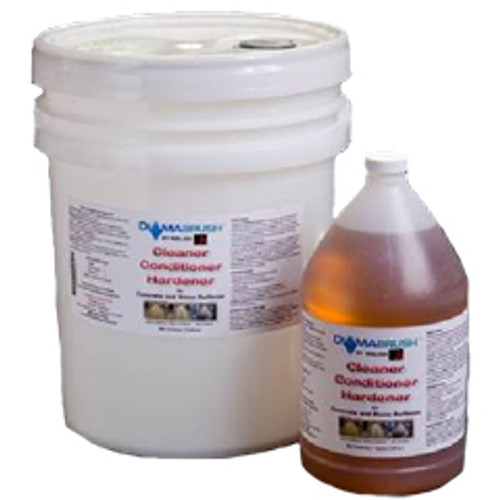 Diamabrush cleaner conditioner hardener db2019755 for concrete and stone surfaces 5 gallon pail by Malish