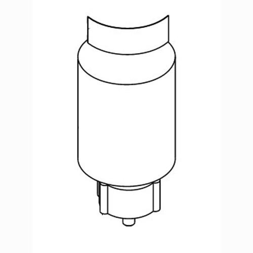 Nilfisk 56397316 motor gear unit assembly for Clarke Viper Advance machines