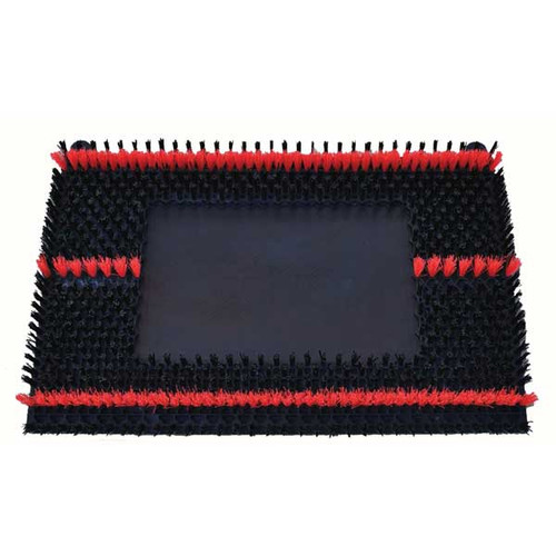 Sonicscrub 702420 scrub brush for 14x20 inch square strip scrub vibration oscillating floor machines by Malish