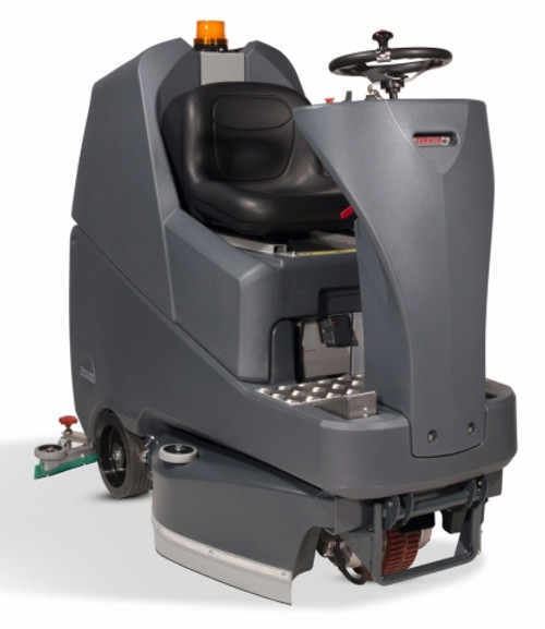 NaceCare TTV678 Twintec Vario Rider floor scrubber 904433 32 gallon 26 30 or 34 inch path 6x100ah gel batteries