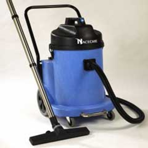 NaceCare WVD902 wet only canister vacuum 899651 12 gallon dual motor with BB7 kit