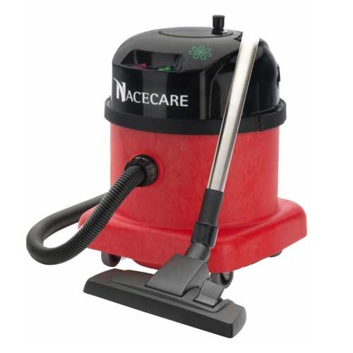 NaceCare PPR380 dry canister HEPA vacuum two speed motor with AST3 air turbo tool kit 4.5 Gallon 0.9 hp 8027131