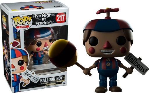 Five Nights At Freddy S Balloon Boy Us Exclusive Pop