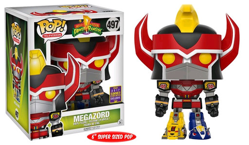 Power Rangers Megazord 6 Quot Sdcc17 Pop Vinyl Figure