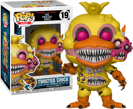 five nights at freddy s the twisted ones twisted chica pop vinyl