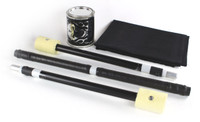 5ft - Fire Breakdown Collapsible Spinning Staff - Starter Kit