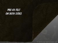 """Pre-Ox Felt Sheet - 1/8"""" (3mm) Thick - Fiberglass Reinforced"""