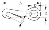 Sea Dog 131042 Dimensions