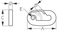 Sea Dog 157110 Dimensions