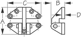 Sea Dog 204280-1 Dimensions