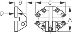 Sea Dog 205280-1 Dimensions