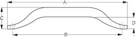 Sea Dog Handrail Dimensions