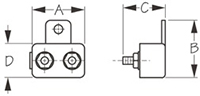 Resettable Circuit Breakers Dimensions