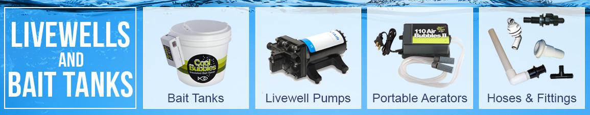Fishing Livewells & Bait Tanks