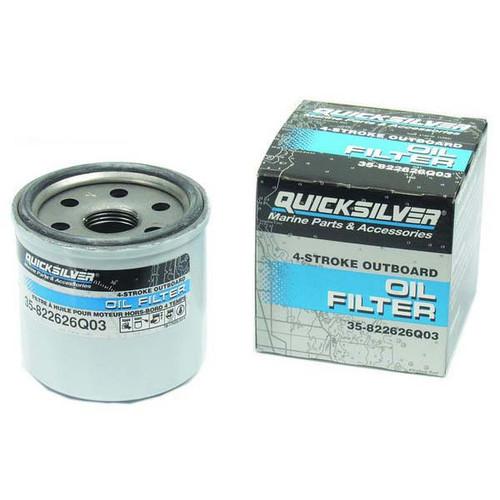 Quicksilver 4-Stroke Outboard Oil Filter, Mercury - Mercruiser 35-822626Q03