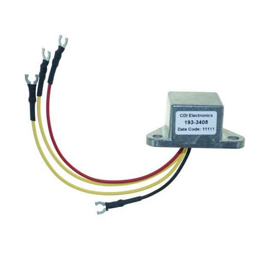 cdi 193 3408 johnson evinrude rectifier regulator 3 wire rh wholesalemarine com
