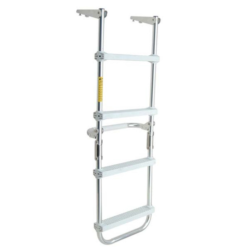 Garelick Folding Pontoon Deck Ladder