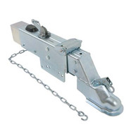 "Dico Zinc-Plated Brake Actuator w/ Drop, Lockout Shield - Disc - 2-5/16"" Ball"