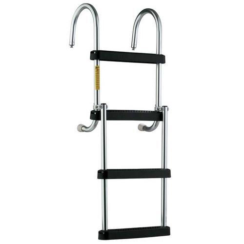 Garelick 2-4 Step Folding Pontoon Ladder