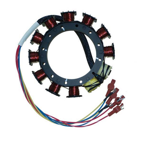 Mercury / Mariner 3/4 Cylinder Outboard High Performance 9 Amp Stator by CDI