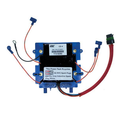 Johnson Evinrude 4 Cyl. Optical Power Pack by CDI