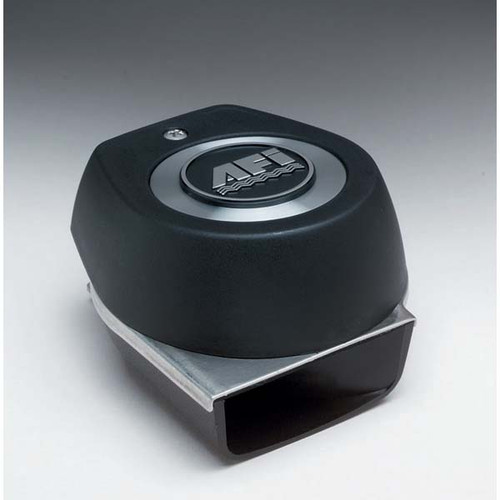 Stainless Steel Compact Electric Horn with Black Cover