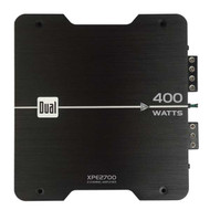 Dual 400W 2/1 Channel Amplifier (Black)