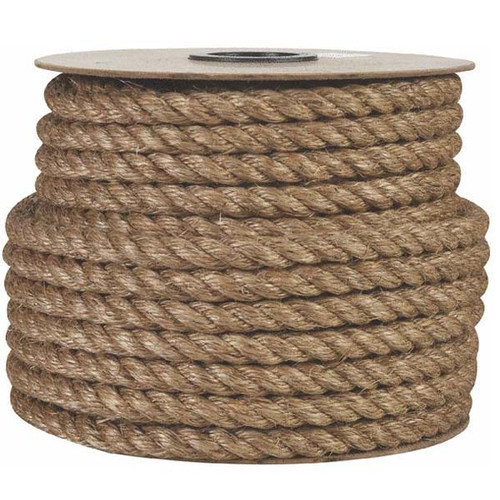 "Aamstrand 1 1/2 "" Manila Barge Rope by the Foot"