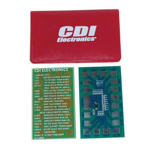 CDI Resistor Test Pack