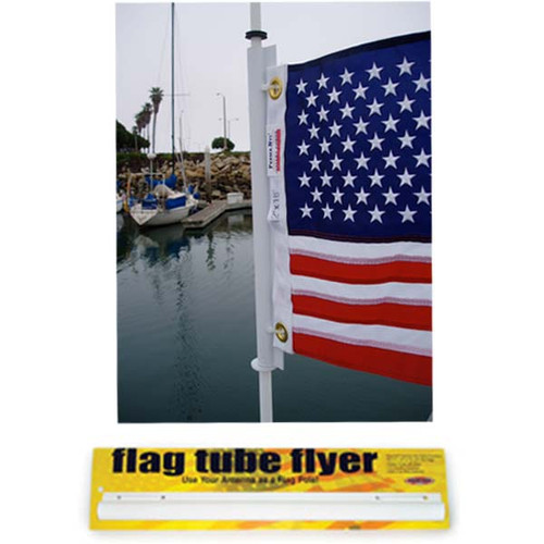 Flag Flyer Tube for VHF Antenna