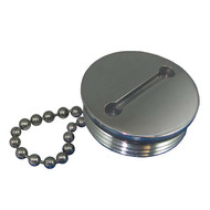 Attwood Replacement Gas Cap And Chain Stainless Steel