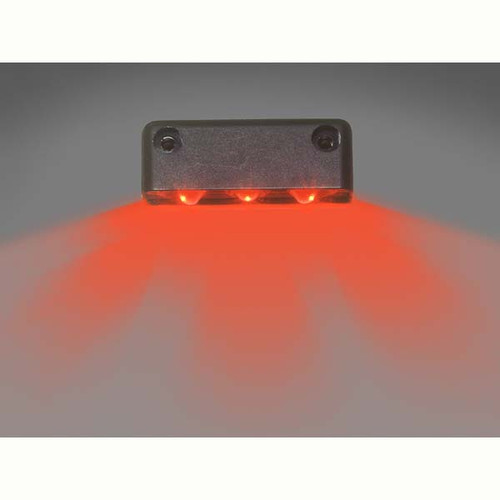 Surface Mount LED Step Light - Red