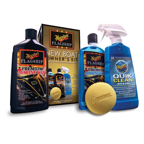Meguiar's New Boat Owner Starter Kit