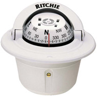 Ritchie F-50 Explorer Compass, Flush Mount