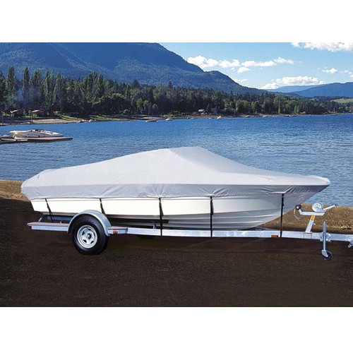 """Taylor Hotshot Sterndrive Boat Cover - 17'5"""" to 18'4"""" x 96"""" - Black"""