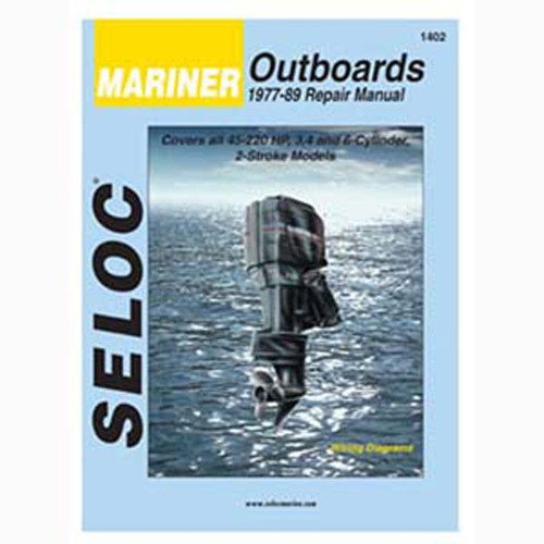 Seloc Service Manual, Mariner Outboards 1977-1989