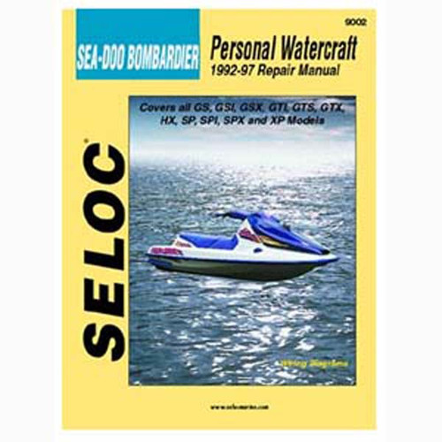 Seloc Service Manual, Sea Doo - Bomardier 1992-1997