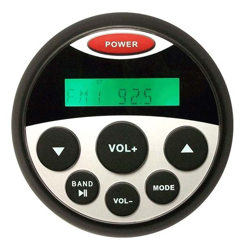"""Milennia AM/FM/USB 4x40W IP66 Waterproof 3"""" Unit"""