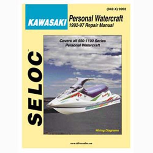 Seloc Service Manual, Kawasaki PWC 1992-1997