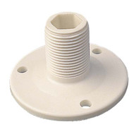 Sea Dog Fixed Boat Antenna Base - White Nylon
