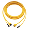 Marinco TV/Phone Combo Cordset 50' Yellow