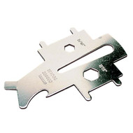 Sea Dog Stainless Steel Multi-Function Marine Deck Plate Key