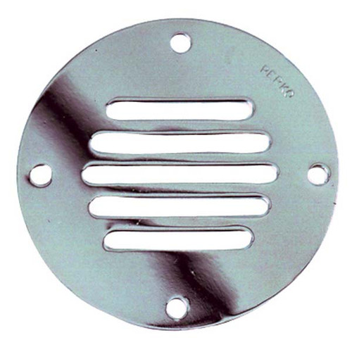"Perko Chrome 3.25"" Round Locker Ventilator"