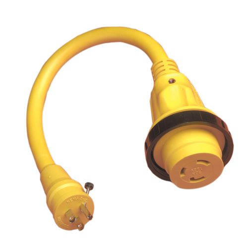 Marinco 30 Amp Shore Power Pigtail Adapter