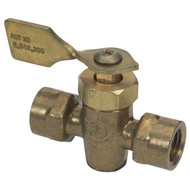 "Moeller Marine Fuel Shut Off Valve, Two Female 1/4"" NPT"