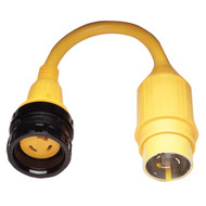 Marinco Pigtail Adapter - 30A Locking to 50A Locking