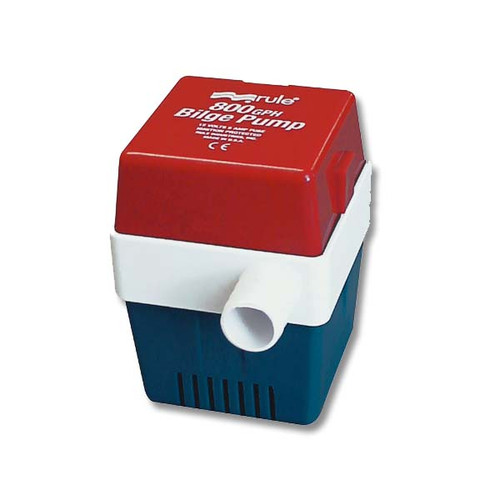 Rule 800 GPH Square Bilge Pump 20F