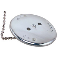 Perko Chrome Bronze Replacement Gas Cap with Chain