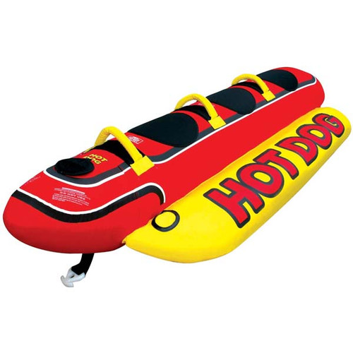 "Airhead ""Hot Dog"" 3 Person Towable Water Weenie"
